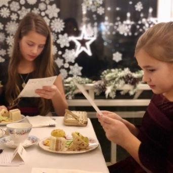 Young Tea Guests